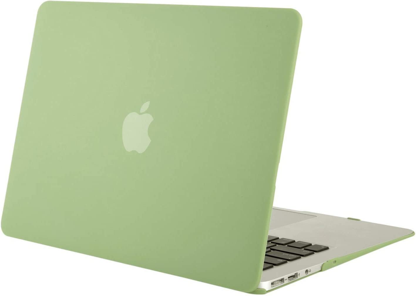 MOSISO MacBook Air 13 inch Case (Models: A1369 & A1466, Older Version 2010-2017 Release), Plastic Hard Shell Case Cover Only Compatible with MacBook Air 13 inch, Avocado Green