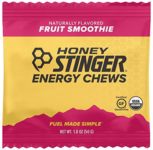 Cherry Honey Spread - Honey Stinger Organic Energy Chews, Fruit Smoothie, Sports Nutrition, 1.8 Ounce (Pack of 12)
