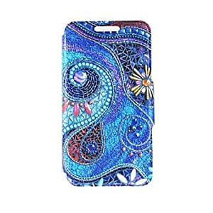 QHY Kinston the Art of Spiral Pattern PU Leather Full Body Case with Stand for Samsung Galaxy Note 4