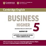 Cambridge English Business 5 Higher Audio CD