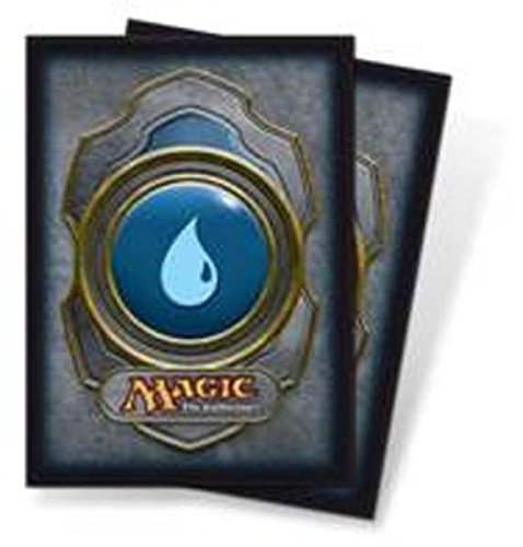 Ultra Pro (80 Count) Blue Mana Symbol Deck Protector Sleeves - Magic the Gathering