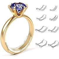Yousir Invisible Ring Size Adjuster Invisible Ring Size Adjuster Spiraalinzetstuk Onzichtbaar voor losse ringen 8 Size…