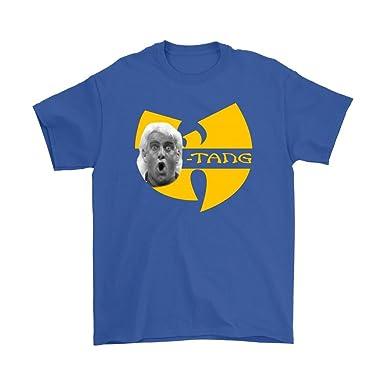 6b05774c0f3 Unisex Wu Tang Shirt - RIC Flair Shirt - RIC Flair Woo Shirt - Multi -   Amazon.co.uk  Clothing