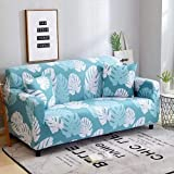 Home Decor,Sofa cover Three Seater, Big Leaves Design