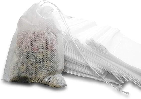 MOAMUN Bolsas de filtro de té, bolsas de infusor de té desechables ...