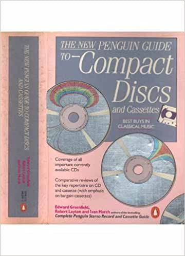 The New Penguin Guide to Compact Discs And Cassettes Penguin Handbooks: Amazon.es: Edward Greenfield: Libros en idiomas extranjeros