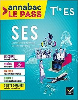 SES Tle ES: cours, cartes mentales, sujets corrigés... et vidéos Annabac Le Pass: Amazon.es: Sylvain Leder, François Porphire: Libros en idiomas extranjeros
