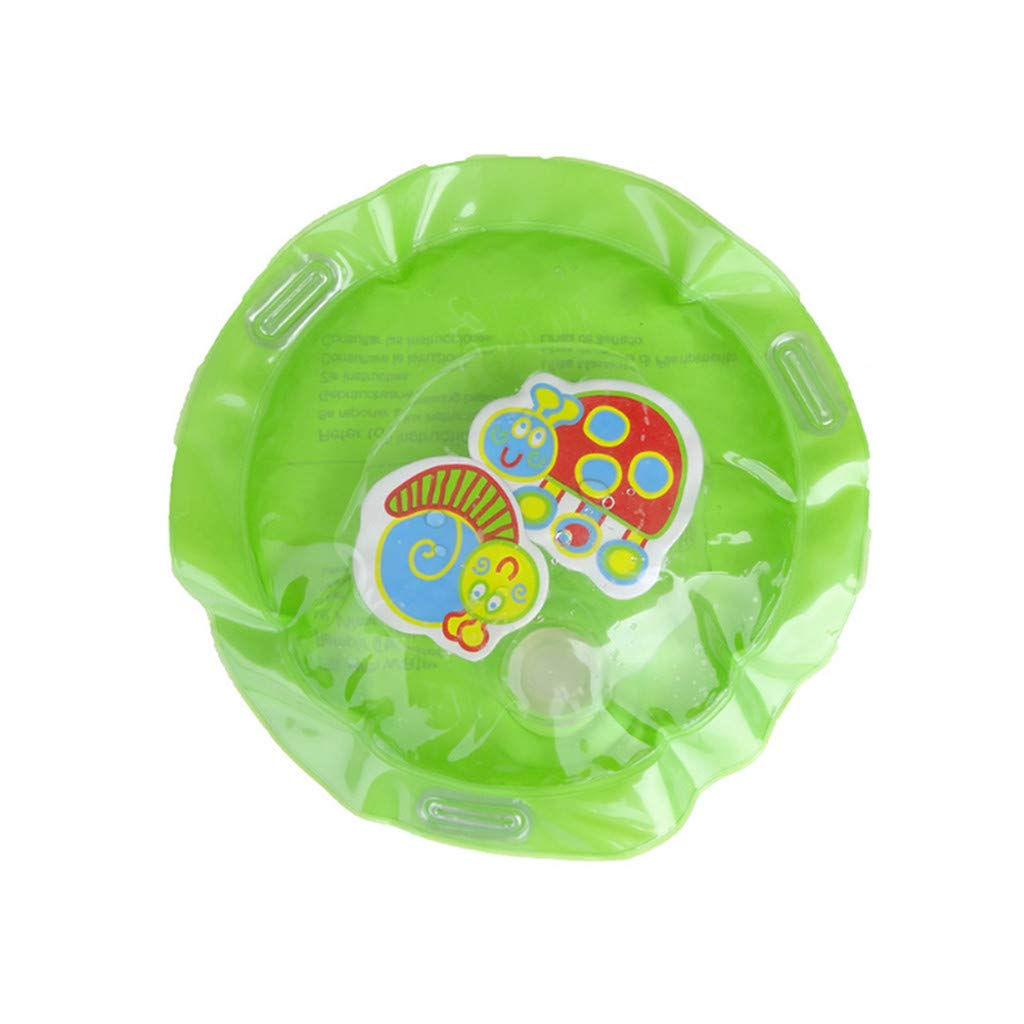 Inflatable Center for Children Infants Baby Water Mat Fun Activity Play (Green)