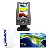 Lowrance Hook-4 Coastal Nautic Insight Sonar/GPS Mid/High/Downscan Fishfinder