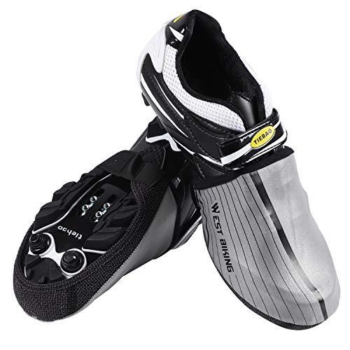 Impermeabile Copriscarpe Da Silver Shoecover Protector Ciclismo Antivento Mezza Westgirl Per Scarpe Bici Riflettente Copre 8ERwqP6n