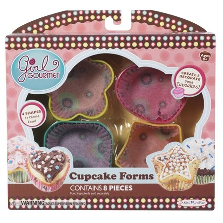 Girl Gourmet Cupcake Forms use with Girl Gourmet Cupcake Maker