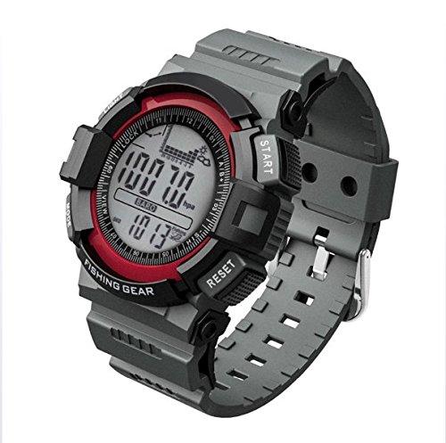 Deportes Al Aire Libre Escalada De Pesca Barómetro Reloj Digital Reloj Termómetro Altitud Escalada Senderismo Horas Reloj Digital: Amazon.es: Hogar