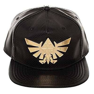 bioWorld Zelda Gold Metal Snapback from BioWorld