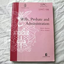 Wills, Probate and Administration (Legal Practice Course Resource Books)