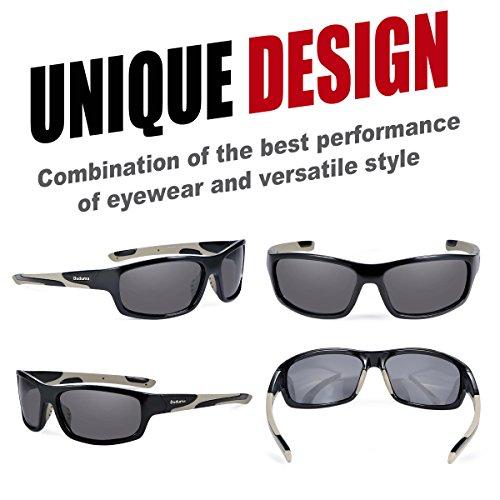 6bfa1305674 Amazon.com  Duduma Polarized Sports Sunglasses for Men Women Baseball  Running Cycling Fishing Driving Golf Softball Hiking Sunglasses Unbreakable  Frame ...