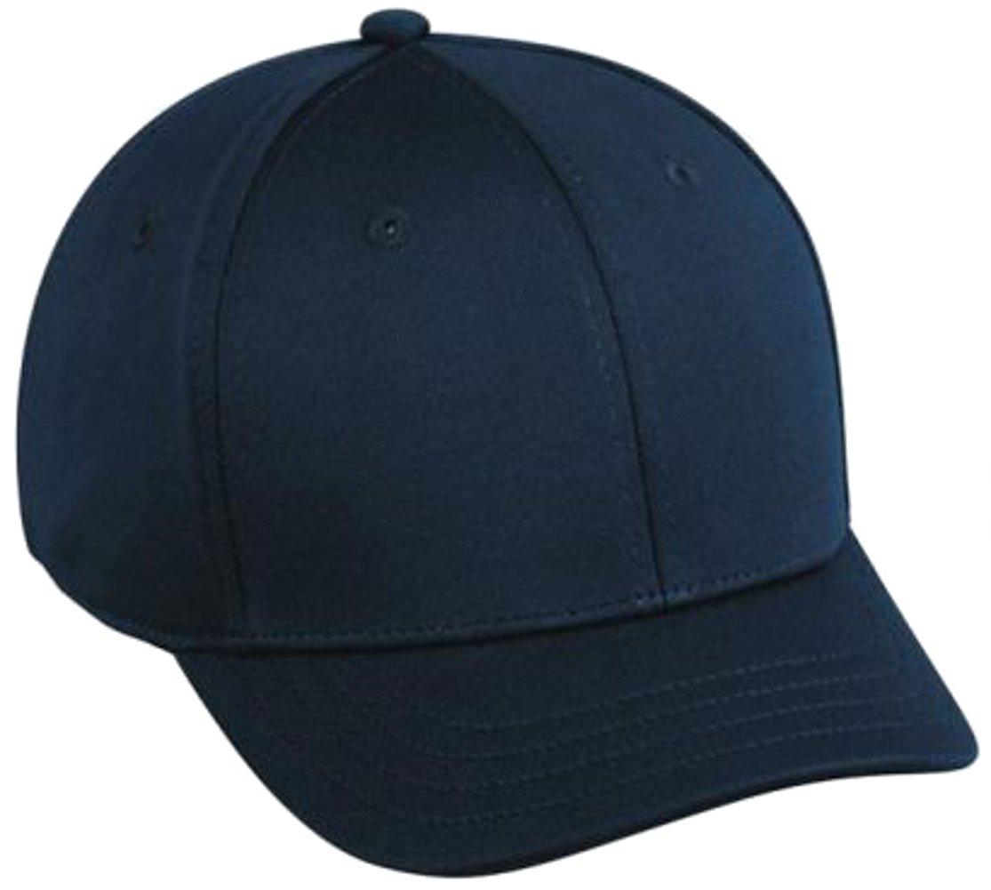 0ace4e5cd9b78a Amazon.com: Proflex Dark Navy Umpire Cap: Sports & Outdoors