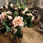 TRENTON-Artificial-Gardenia-Flowers-Faux-Silk-Fake-Camellia-Flower-Bridal-Bouquet-for-Home-Garden-Party-Wedding-Decoration-Cameo-Brown
