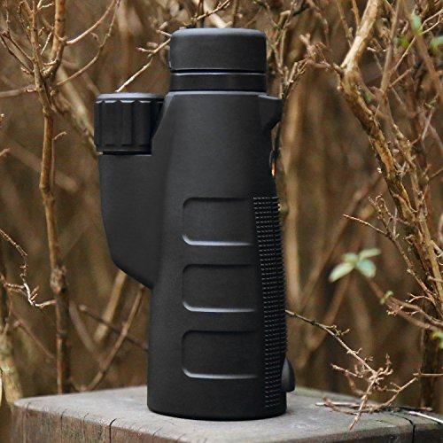 High Power Monocular Telescope 15X50 Monocular Scope with Tripod Smartphone Holder, HD Low Light Night Vision Scope, Waterproof Super Bright and Clear for Adults Bird Watching Wildlife MB15-1 by ANATA (Image #3)