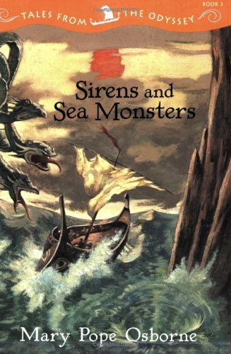 Sea Monster Green - Tales from the Odyssey Sirens and Sea Monsters