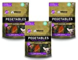 Pegetables Mixed 18-Ounce Value Size Dental Chew, Small (3 Pack)