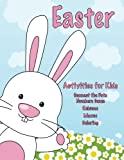 img - for Easter Activities for Kids: Connect the Dots Numbers Game, Rebuses, Mazes, Coloring book / textbook / text book