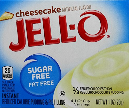 Jell-O Cheesecake Sugar Free Pudding & Pie Filling (5-Pack) ()