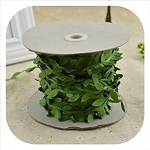 Memoirs- 200cm/lot Artificial Flowers Vine Christmas for Home Wedding car Decor Accessories Fake Plants Leaf Vine DIY Wreath Gifts 7