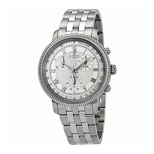 Charmex President II Chronograph Silver Dial Mens Watch 2995