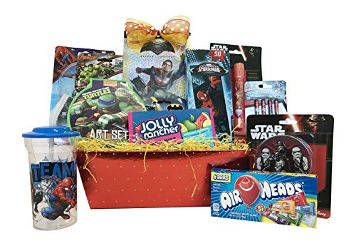Gift Baskets :: 10 Items For Kids :: Ultimate Superhero Fun & Games Includes Ave for $<!--$59.99-->