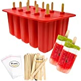 Homemade Popsicle Molds Shapes, Food Grade Silicone Frozen Ice Popsicle Maker-BPA Free,