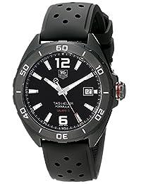 TAG Heuer Men's WAZ2115.FT8023 Black Titanium Automatic Watch