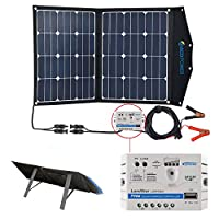ACOPOWER 12V 70 Watt Foldable Solar Pane...