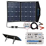 ACOPOWER 12V 70 Watt Foldable Solar Panel Kit; Portable...