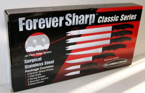 12 Forever Classic Features: Forever Sharp Classic Series 12 Pc Set Surgical Stainless