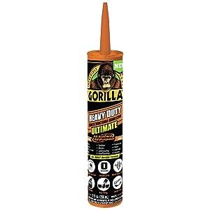 Gorilla 8008002 Ultimate Construction Adhesive, 9oz, White