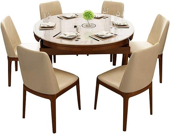 Tavoli Da Pranzo Vetro E Legno.Tavolo Da Pranzo Telescopico In Legno Massello E Sedia Tavolo In