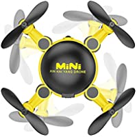 Owill Mini Wifi Camera Drone RC Quadcopter 2.4GHz 4CH 6-Axis Gyro 3D FPV KY901 Helicopter (Yellow)