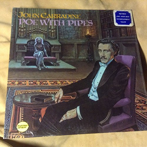 John Carradine ~ Poe With Pipes ~ Electric Lemon Records Stereo PLP-1918 ()