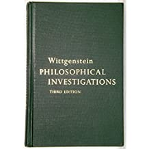 Philosophical Investigations 3rd Edition
