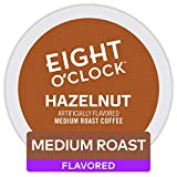 Eight O'Clock Coffee Hazelnut, Single Serve Coffee K-Cup Pod, Medium Roast, 96