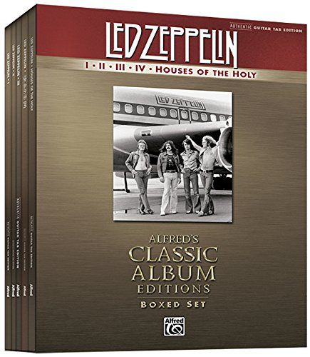 - Led Zeppelin I-Houses of the Holy (Boxed Set): Authentic Guitar TAB, Book (Boxed Set) (Alfred's Classic Album Editions)