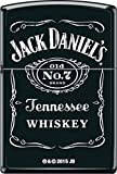 Jack Daniel's Zippo Lighter Outdoor Indoor Windproof Lighter Free Customize Personalized Engrave Message Permanent Lifetime Engraving on Backside (Style25)