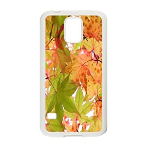SOPHIA Phone Case Of Maple leaves Unique Cool Painting Fashion Style For Samsung Galaxy S5 I9600