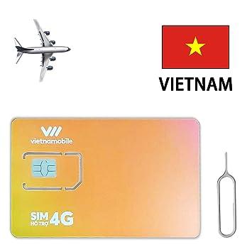 Vietnam - Tarjeta SIM prepagada (120 GB, 3G, 7 días)