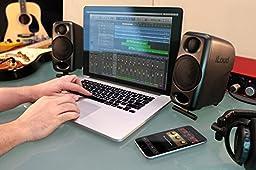IK Multimedia iLoud Micro Monitors Ultra-compact Studio Reference Monitors