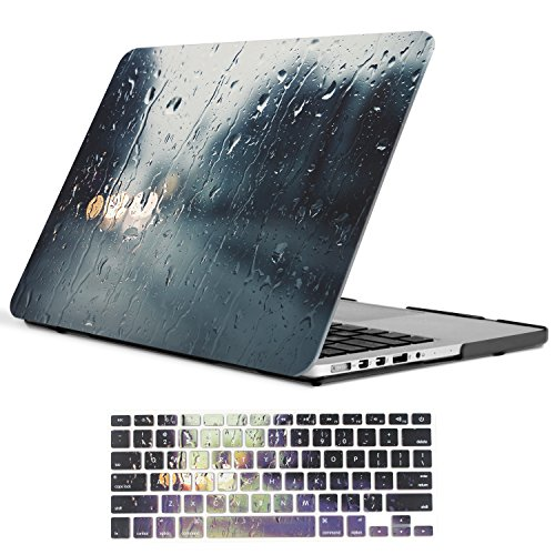 Macbook iCasso Plastic keyboard cover Raining