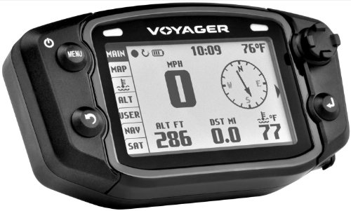 Trail Tech 912-2011 Voyager Stealth Black Moto-GPS Computer by Trail Tech