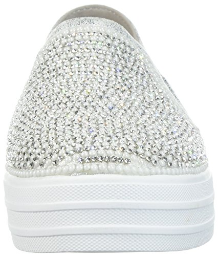 Double Shiny Dancer Mujer Skechers Wides Plateado Dancer Wides Up Para Up SkechersDouble Shiny Brillantes 4w0x0aXqH