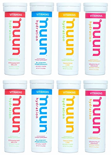 Effervescent Stick Packs (Nuun Hydration: Vitamin Drink Tablets, Mixed Fruit, 8 tubes)