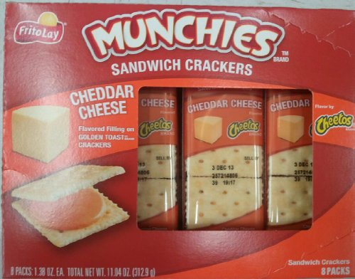 Frito Lay Munchies Cheddar Crackers product image